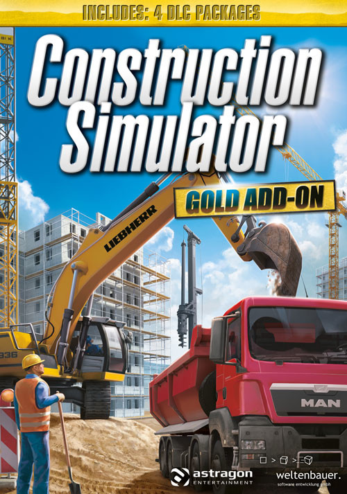 Construction Simulator: GOLD Add-ON - Cover / Packshot