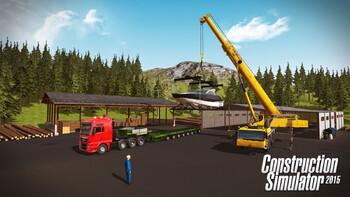 Screenshot1 - Bau-Simulator 2015: Liebherr LTM 1300 6.2 DLC 6