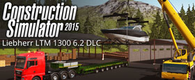 Construction Simulator 2015: Liebherr LTM 1300 6.2 DLC 6