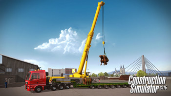 Screenshot4 - Construction Simulator 2015: Liebherr LTM 1300 6.2 DLC 6