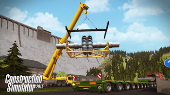 Screenshot2 - Construction Simulator 2015: Liebherr LTM 1300 6.2 DLC 6