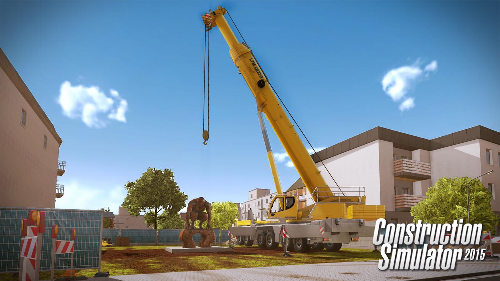 Construction Simulator 2015: Liebherr LTM 1300 6 2 DLC 6 [Steam CD Key] for  PC, Mac and Linux - Buy now