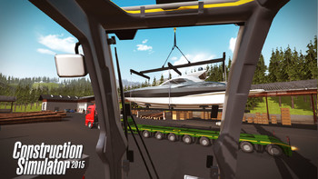 Screenshot8 - Construction Simulator 2015: Liebherr LTM 1300 6.2 DLC 6