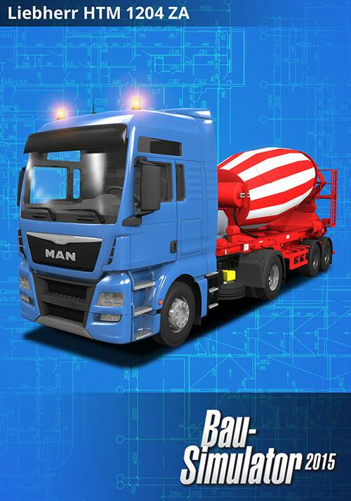 Bau-Simulator 2015: LIEBHERR HTM 1204 ZA - Cover