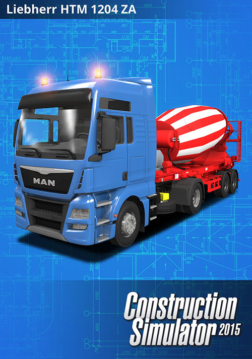Construction Simulator 2015: LIEBHERR HTM 1204 ZA - Cover / Packshot