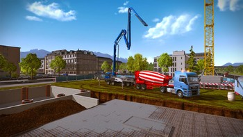 Screenshot6 - Construction Simulator 2015: LIEBHERR HTM 1204 ZA