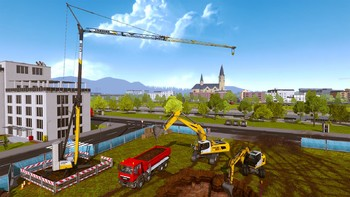 Screenshot2 - Bau-Simulator 2015: LIEBHERR® A 918 DLC 8