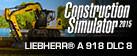 Bau-Simulator 2015: LIEBHERR® A 918 DLC 8