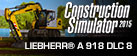 Construction Simulator 2015: LIEBHERR® A 918 DLC 8