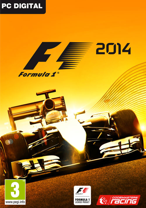 F1 2014 - Packshot