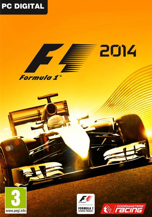F1 2014 - Cover