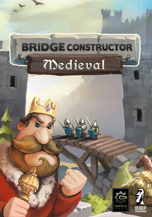 Bridge Constructor Mittelalter - Cover / Packshot