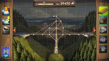 Screenshot3 - Bridge Constructor Mittelalter