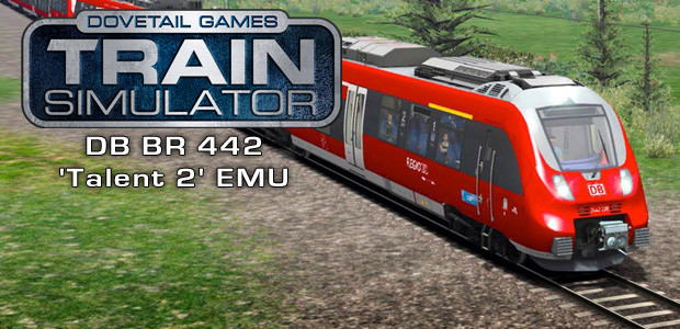 Train Simulator: DB BR 442 'Talent 2' EMU Add-On - Cover / Packshot