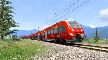 Screenshot1 - Train Simulator: DB BR 442 'Talent 2' EMU Add-On