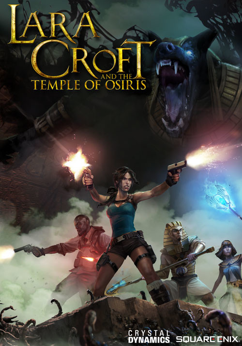 Lara Croft and the Temple of Osiris - Cover