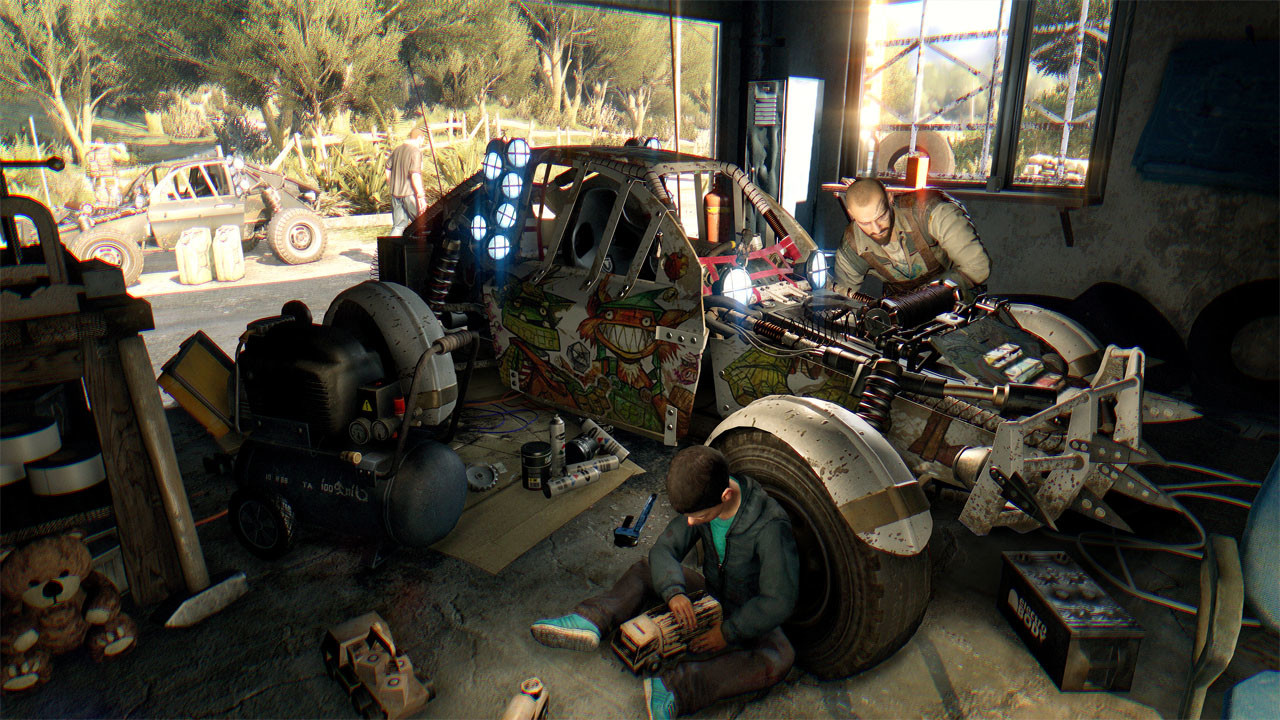 Dying Light Car Paint Locations