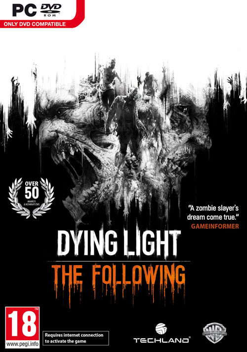Dying Light - The Following - Cover / Packshot
