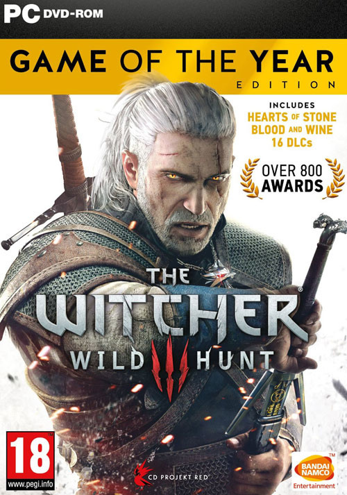 The Witcher 3: Wild Hunt - Game of the Year Edition - Cover