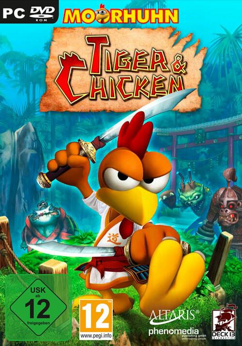 Moorhuhn: Tiger & Chicken - Cover