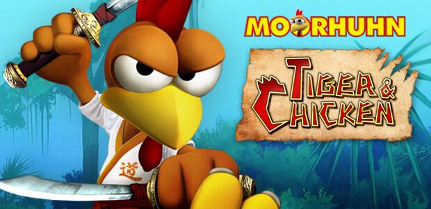 Moorhuhn: Tiger & Chicken - Cover / Packshot