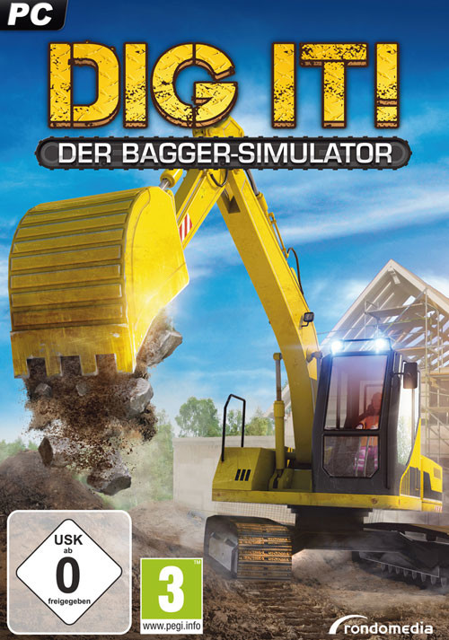 Dig it! – Der Bagger Simulator - Cover / Packshot