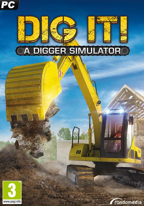 Dig it! – A Digger Simulator - Cover