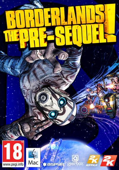 Borderlands: The Pre-Sequel (Mac) - Cover