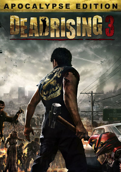Dead Rising 3 Apocalypse Edition - Cover / Packshot