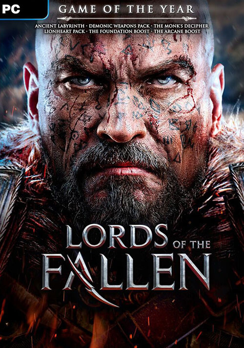 Lords of the Fallen Game of the Year Edition - Cover