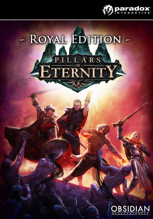 Pillars of Eternity Royal Edition - Packshot