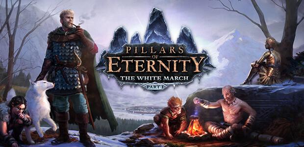 Pillars of Eternity - The White March: Part I - Cover / Packshot