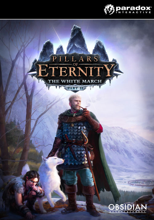 Pillars of Eternity - The White March: Part II - Cover