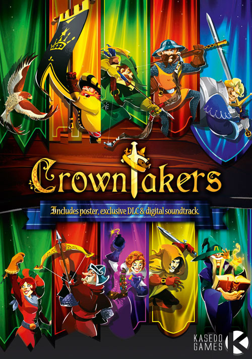 Crowntakers - Packshot