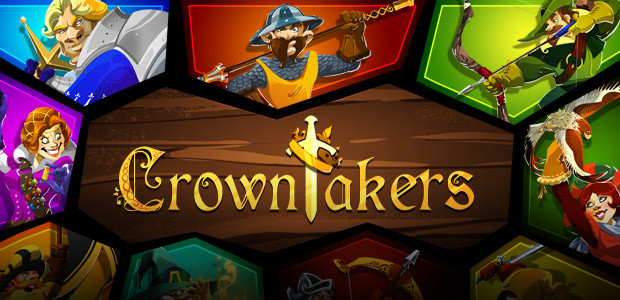 Crowntakers - Cover / Packshot