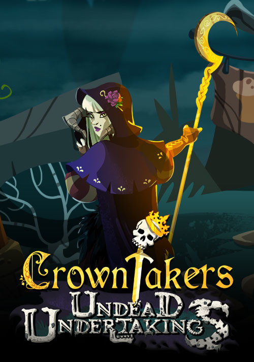 Crowntakers - Undead Undertakings - Cover