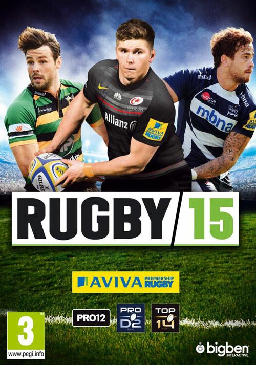 Rugby 15 - Packshot