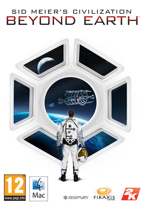 Civilization: Beyond Earth (Mac) - Cover