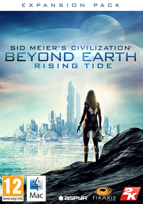 Civilization: Beyond Earth - Rising Tide (Mac) - Cover / Packshot