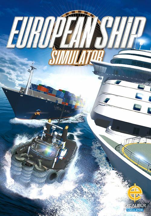 European Ship Simulator - Cover