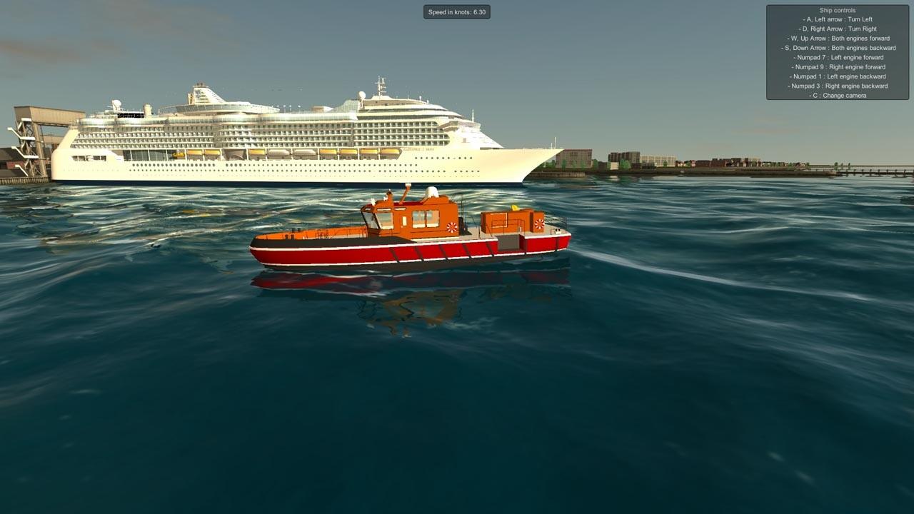 European Ship Simulator Steam CD Key For PC Buy Now - Cruise ship controls