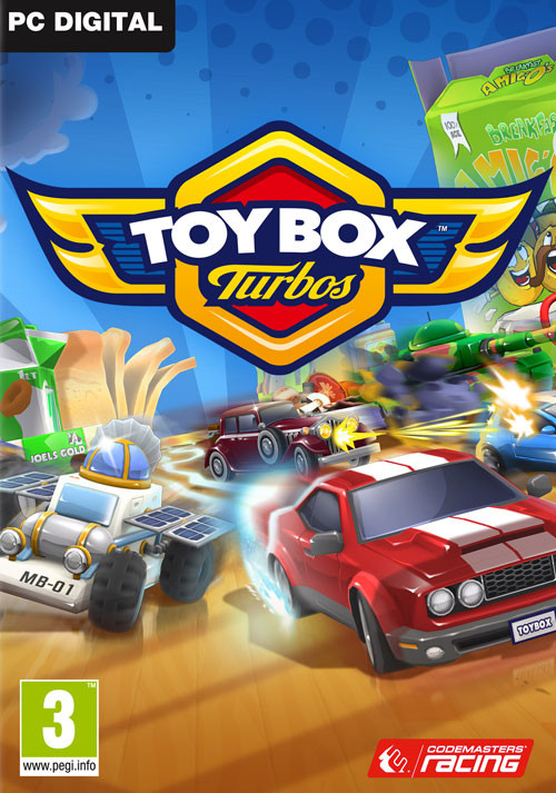 Toybox Turbos - Cover / Packshot