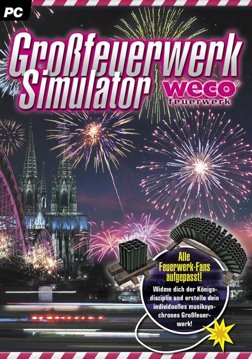 Großfeuerwerk-Simulator - Cover / Packshot