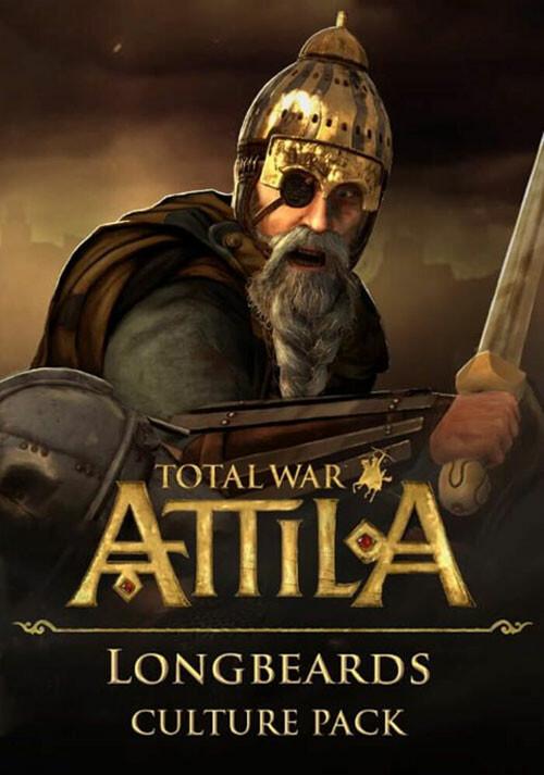 Total War: ATTILA - Longbeards Culture Pack - Cover / Packshot