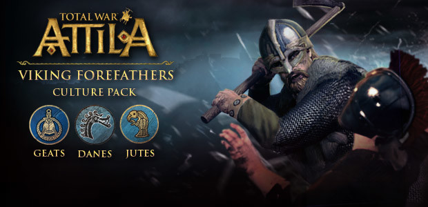 Total War: ATTILA - Viking Forefathers Culture Pack - Cover / Packshot