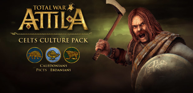 Total War: ATTILA - Celts Culture Pack  - Cover / Packshot