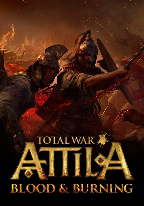 Total War: ATTILA - Blood & Burning Pack - Cover / Packshot