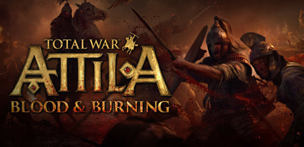 Total War: ATTILA  - Blood & Burning Pack - Cover / Packshot