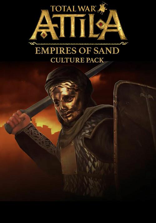 Total War: ATTILA - Empires of Sand Culture Pack - Cover / Packshot