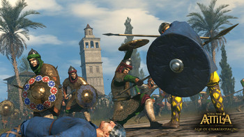 Screenshot3 - Total War: ATTILA - Age of Charlemagne Pack